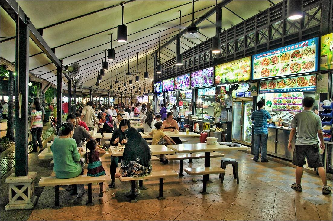 Newton Hawker Centre, Singapore